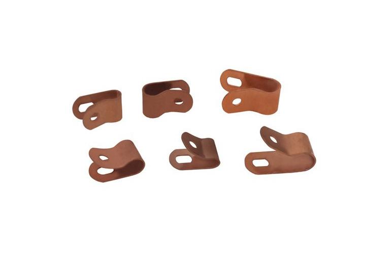 Copper One Hole Clip